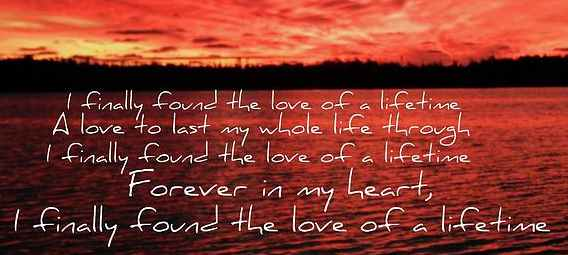 Firehouse - Love of a lifetime
